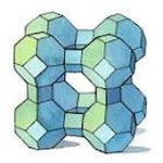 Zeolite's porous, cage-like structure